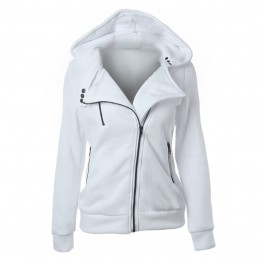 Women's Warm Zipper Fashion Hoodie