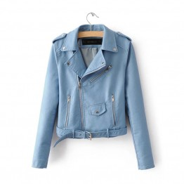 Women's New Spring Fashion Bright Color street jacket