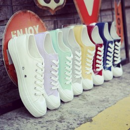 Women's casual canvas fashion sneakers