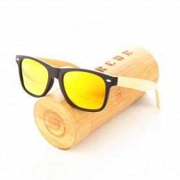 Wood Sunglasses Spring Hinge Handmade Bamboo Unisex