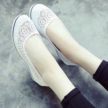 New Canvas nurse shoes Solid Women s Casual Shoes32821798018
