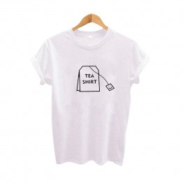 Humor Tea Shirt Graphic tees Women Clothing 2017 Summer Funny t shirts Harajuku Tumblr Hipster Ladies T-shirt