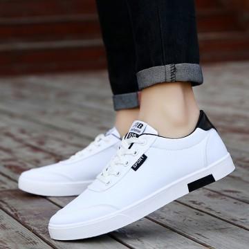 Men s fashion flat casual men s white shoes32832786549