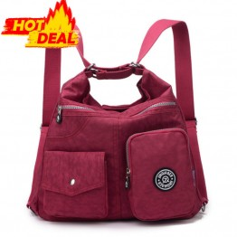New Waterproof Women Double Shoulder Bag