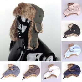 Russian Winter Hat Bomber Hats Unisex