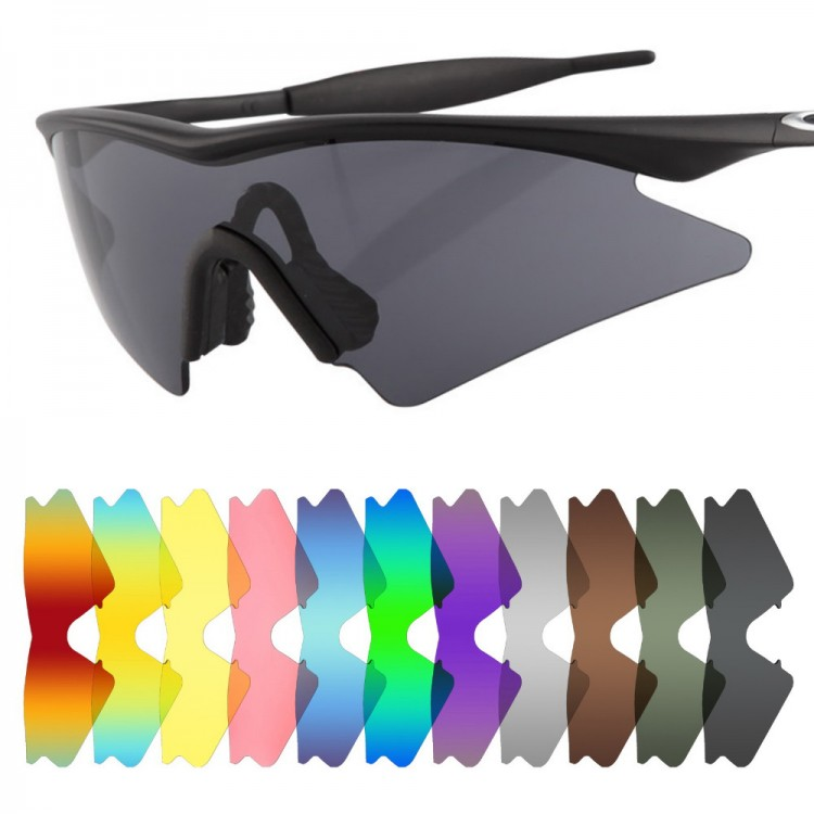 a4a90abba4b8a POLARIZED Replacement Lenses for Oakley M Frame Sweep SunglassesMen s  Fashion