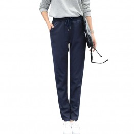Spandex Women's Pants Casual All-Match