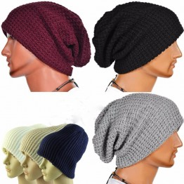 Knitted Fashion Winter Caps Unisex