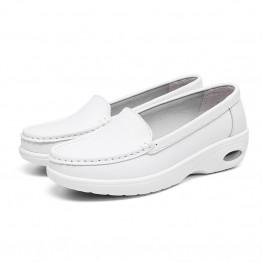 New women's nurse shoes  breathable light