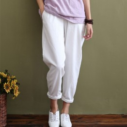 Women's Loose Casual pants Full length Trousers