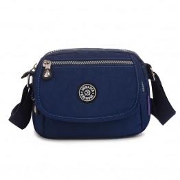 Waterproof Nylon Women's Messenger Bag Small