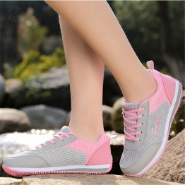 Woman's casual Breathable Fashion mesh sneakers