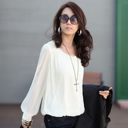 Women's  Chiffon blouse Plus Size